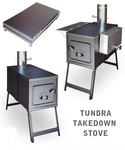 Tundra takedown wall tent stove. - LOVE This: New Norwegian Military Vertical Stove; Burns Any Solid