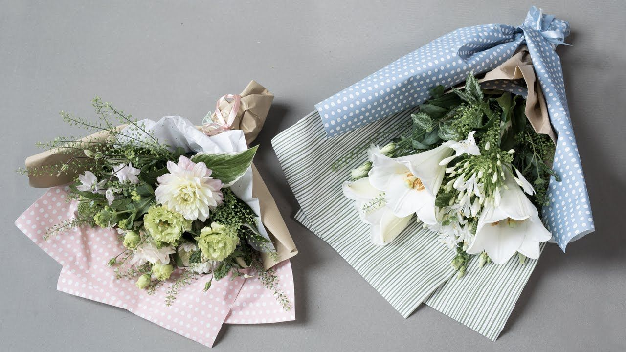DIY How to arrange a bouquet of flowers by Søstrene