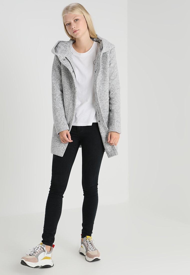 ONLSEDONA MARBLE COAT Kurzmantel light grey melange