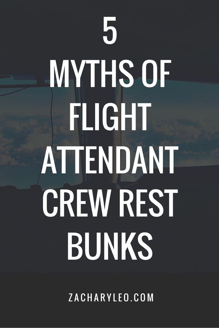 5 Myths of Flight Attendant Crew Rest