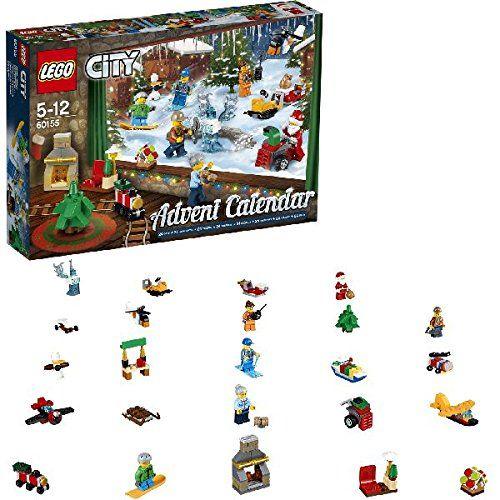 LEGO 60155 City Advent Calendar 2017 Construction Toy Cheap Kids