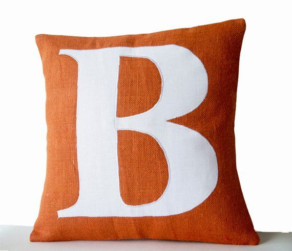 Monogram Pillow Cover, Personalized