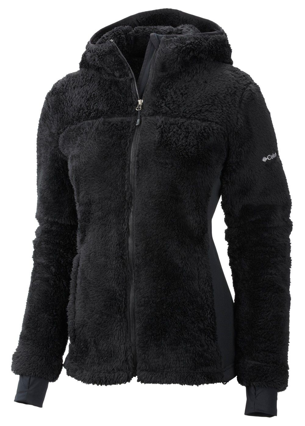 Columbia Women's Polar Yeti Plush Fleece Jacket (Black) | Women's ...