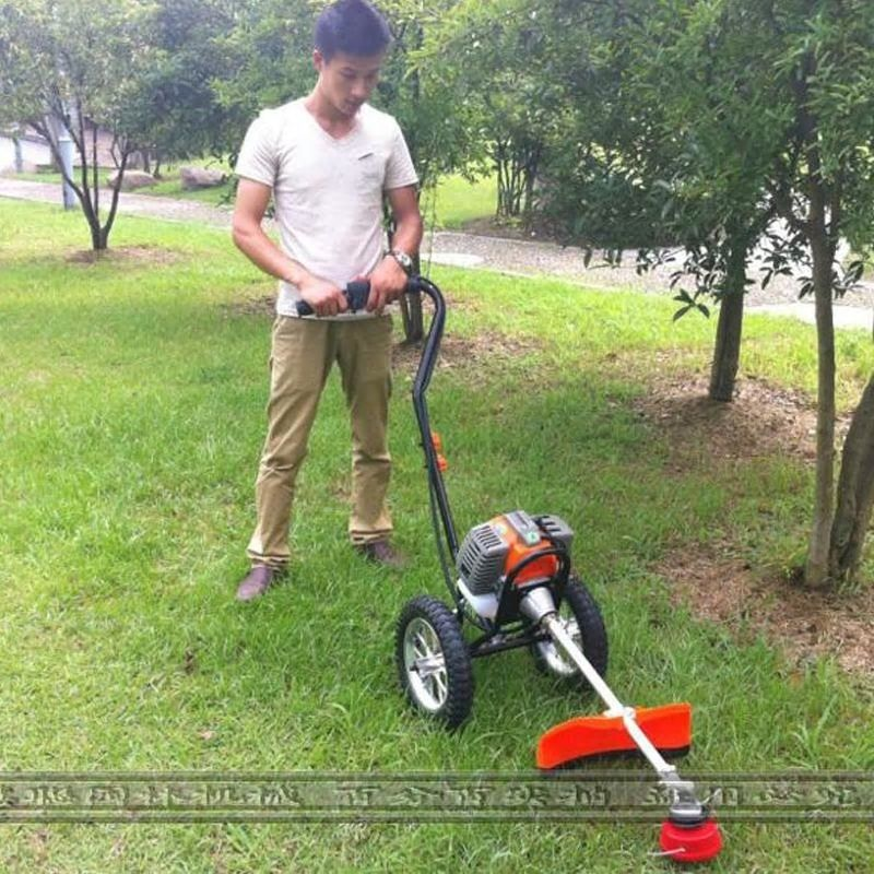 New Hand Push Two Stroke Mower Harvester 1 25kw 7000 Min