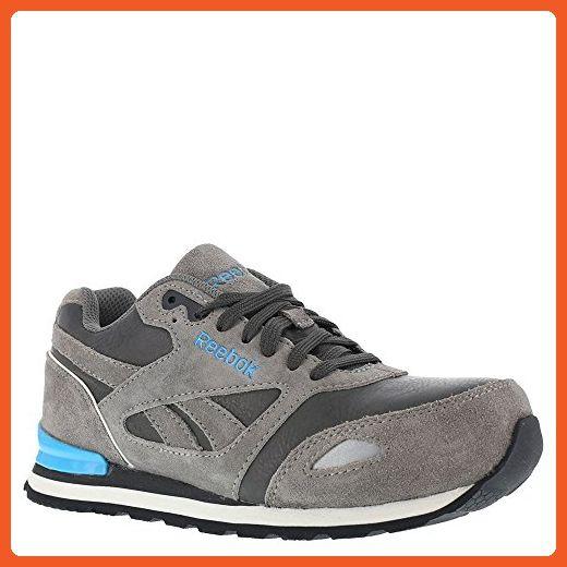para el calzado de trabajo Conroe Abbenes de Work Women, negro / azul claro, 8,5 m US