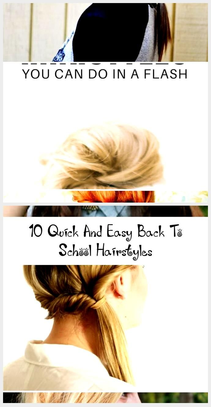 10 Quick And Easy Back To School Hairstyles – Hair Styles – Welcome to Blog