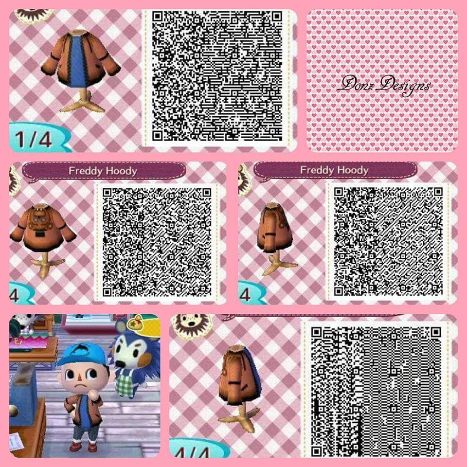 Freddy Hoddy By Donzdesigns Animal Crossing Qr Louis Vuitton