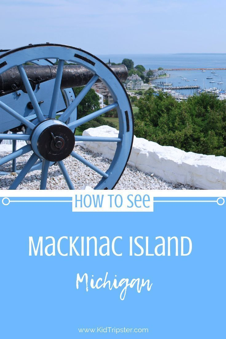 Complete family guide to Mackinac Island, Michigan. #michigan #mackinacisland #grandhotel #grandhotelonmackinacisland #michiganwithkids #familyvacation #familytravel #islandvacation #islandvacations #familytravel #travelwithkids #travelingwithkids #northernmichigan #upperpeninsula #traveltip #traveltips