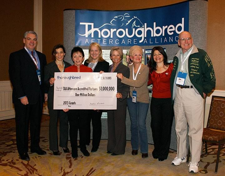 Thoroughbred Aftercare Alliance Awards $1 Million in Grants to Accredited Facilities