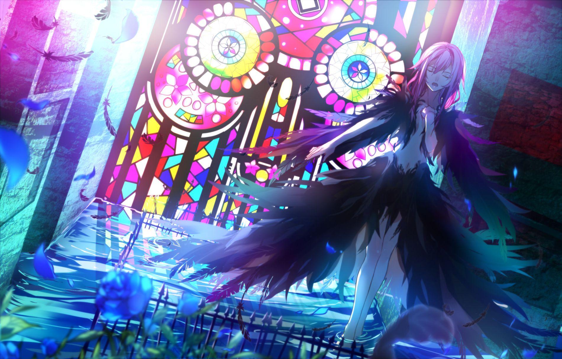 Anime Guilty Crown Yuzuriha Inori Wallpaper Anime