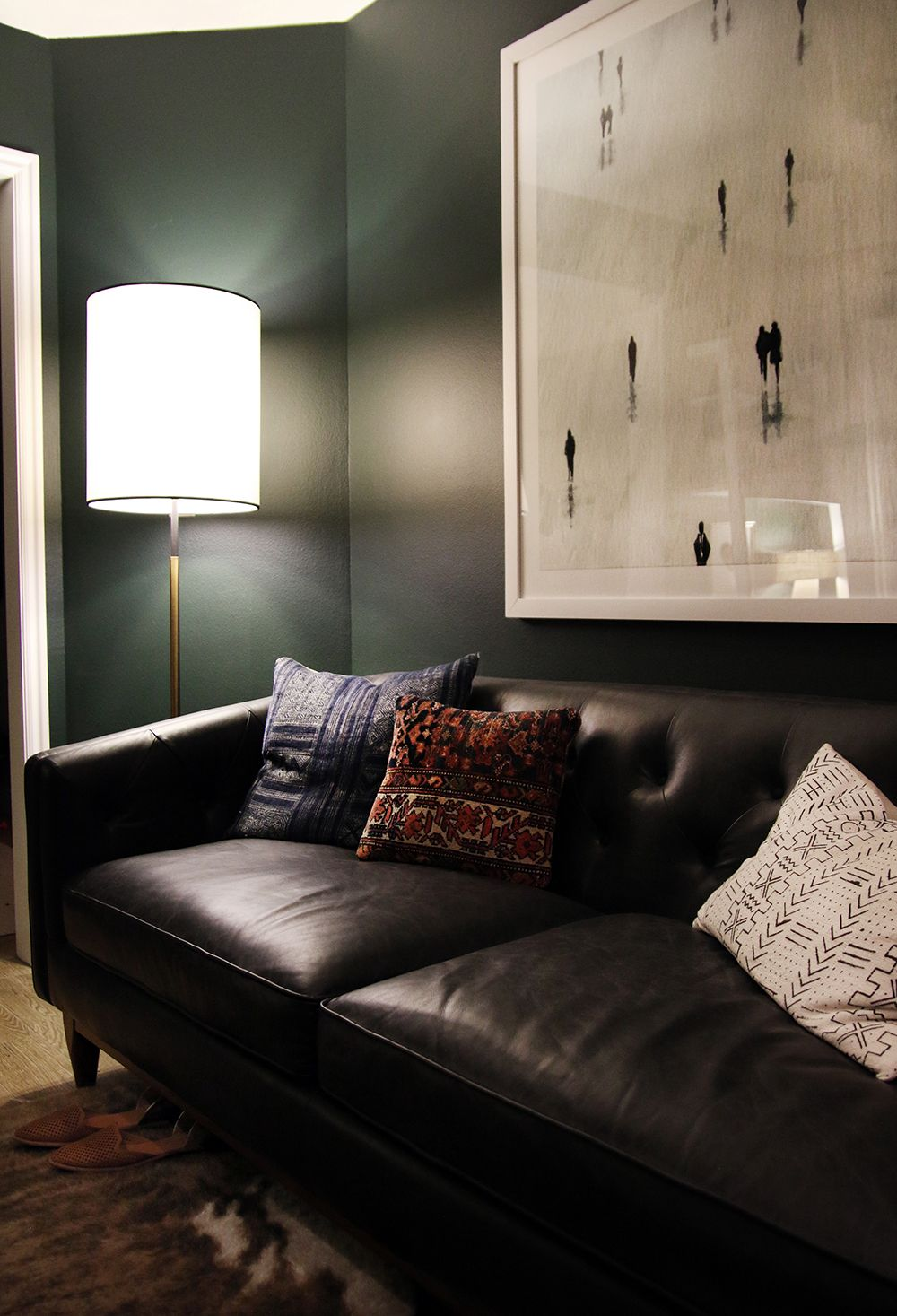 Deep Green Walls Paint Color Is Pine Grove By Clark