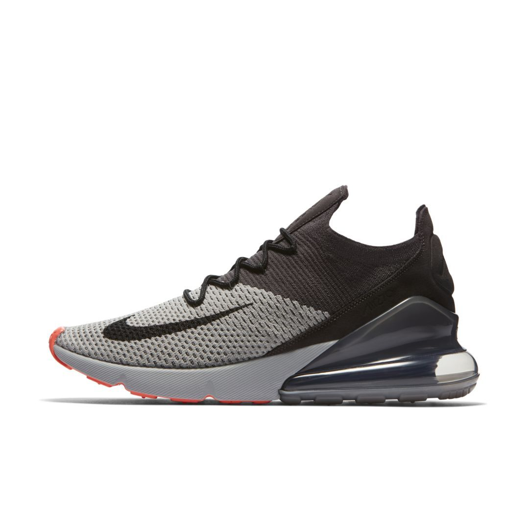 584e9560e6d8c Nike Air Max 270 Flyknit Men s Shoe Size 13 (Atmosphere Grey)