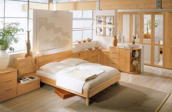 Korean Wood Bed