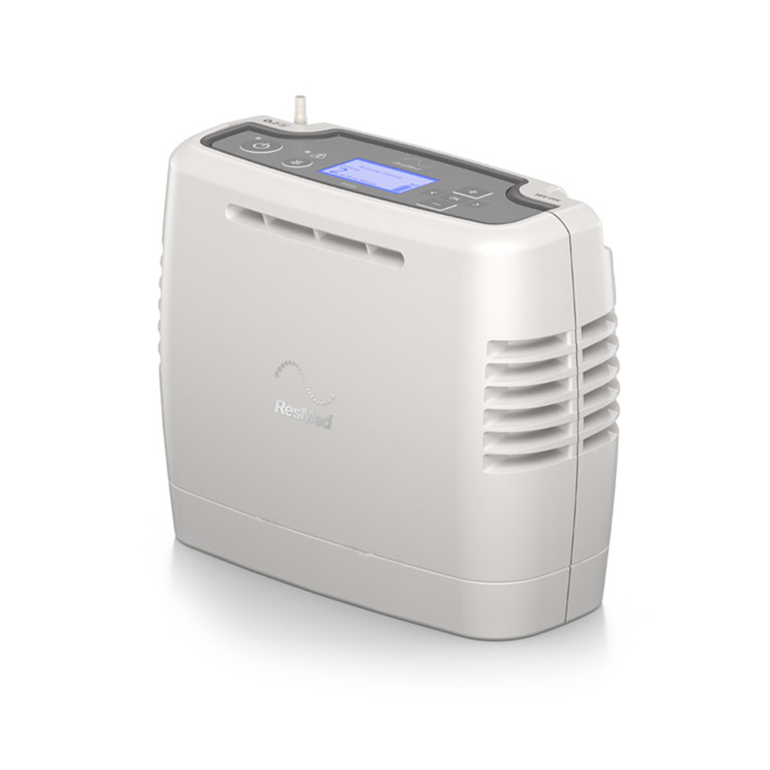 The super compact Mobi Portable Oxygen Concentrator
