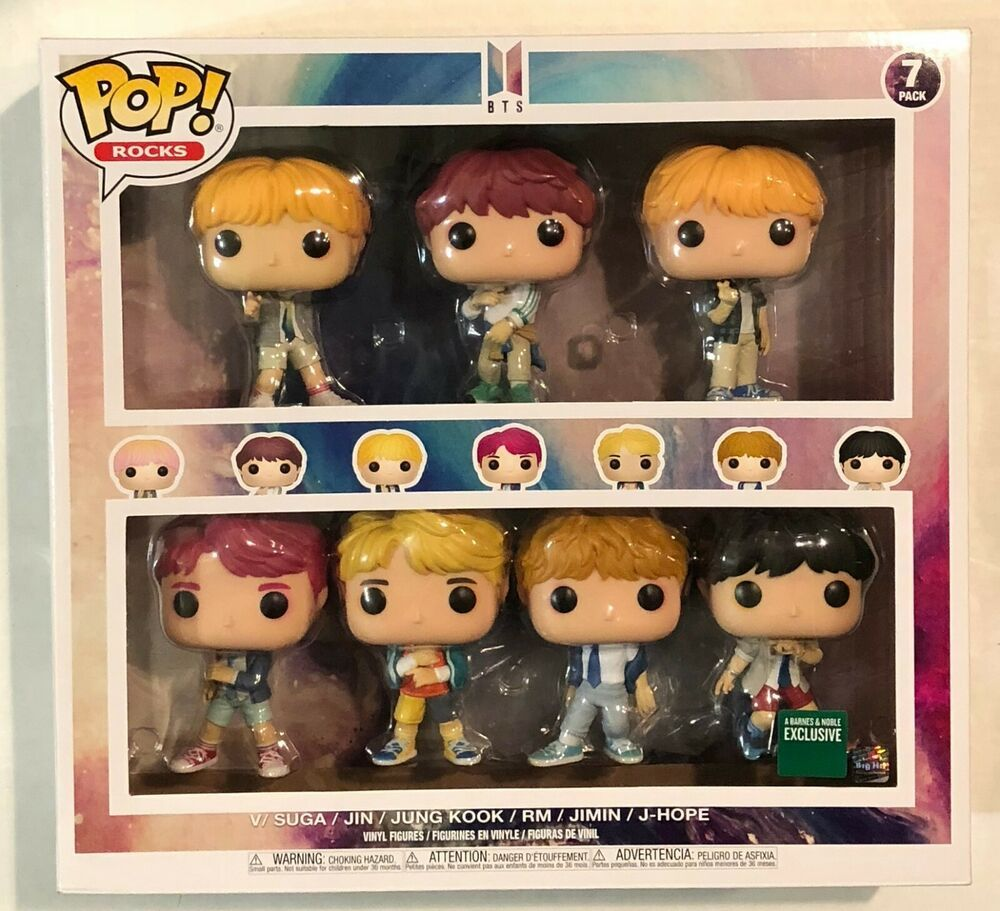 Funko Pop Bts 7 Pack Barnes And Noble Exclusive Afflink Contains Affiliate Links When You Click On Links To Various Merchants On This Sit Funko Pop Funko Bts