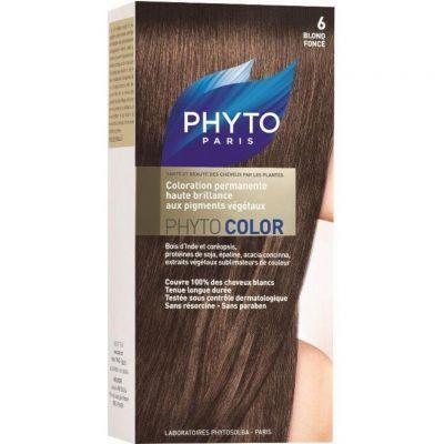 Phyto Color Bitkisel Sac Boyasi Koyu Sari 6 Sac Boyasi Sac