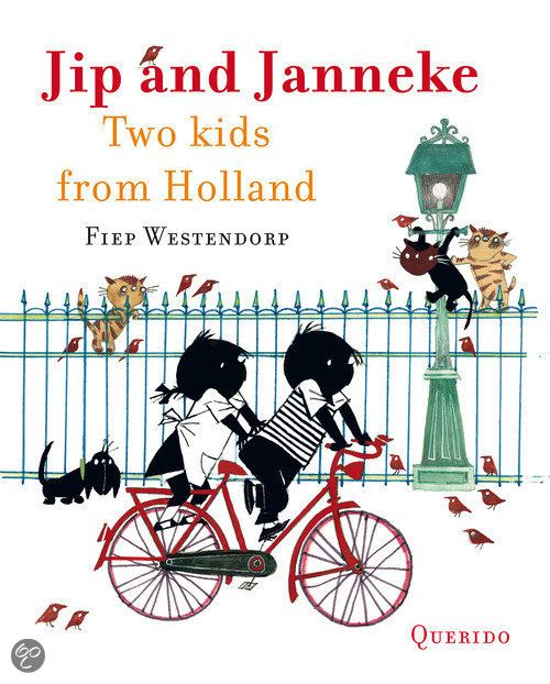 'Jip and Janneke'. Story by Annie M.G. Schmidt, illustrations by Fiep Westendorp. #greetingsfromnl