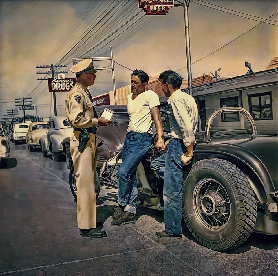 Hot Rods From Hell ....... Juvenile Delinquents Of The '50