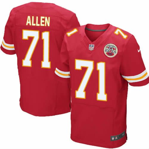 Jeff Allen Jersey Kansas City Chiefs  71 Mens Red Elite Jersey Nike NFL  Jersey Sale ac1a153ab