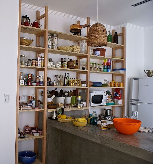 La estanter a para la cocina la casa del limonero pinterest estanter as cocinas y bibliotecas - Estanterias para la cocina ...