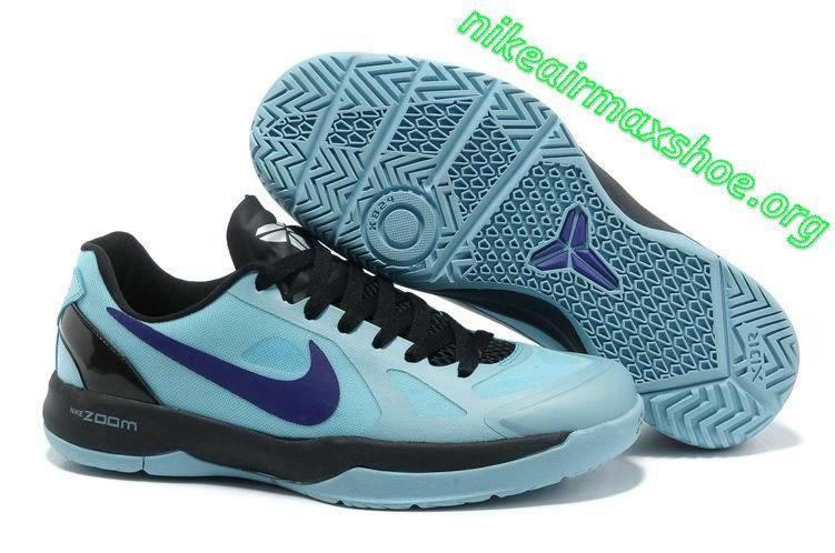 Nike Black Mamba 24 Kobe Water Blue Black Purple 579756 402