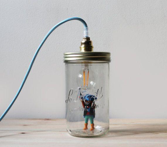 Textile Cable Chevron Diy Playmobil Lampe Motif Parfait Le rxBdQWoCe