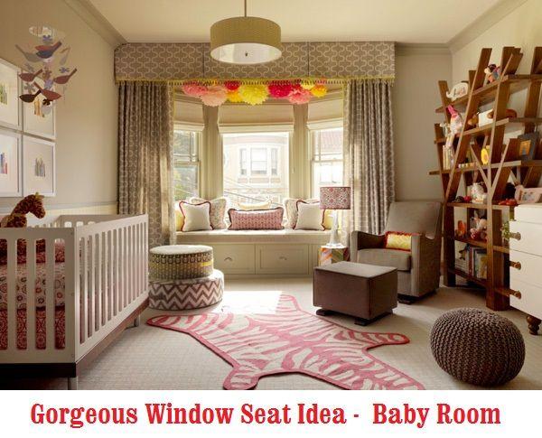 Prime Gorgeous Window Seat In Baby Room Babyroom Nursery Short Links Chair Design For Home Short Linksinfo