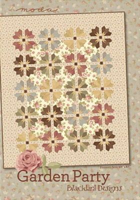 Garden Party Quilt Pattern by Blackbird Designs
