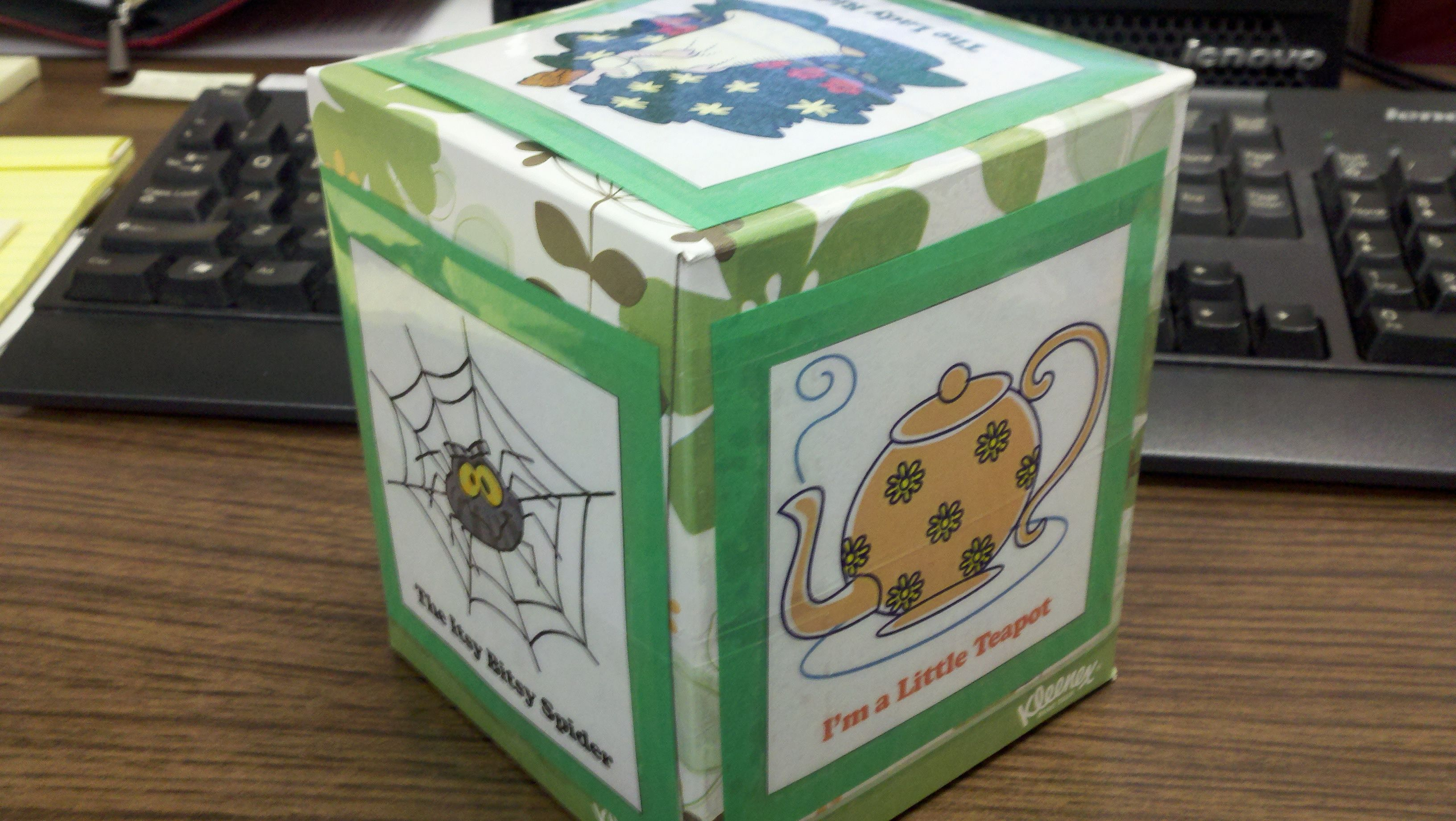 Baby Craft Rhyme Cube