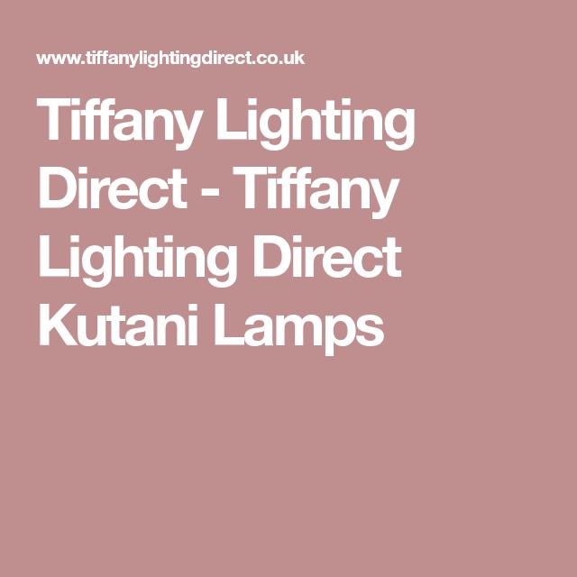 Tiffany Lighting Direct Kutani
