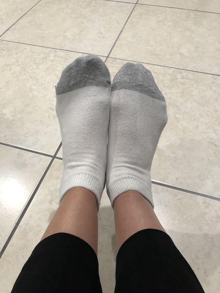 worn women's socks - 750×1000