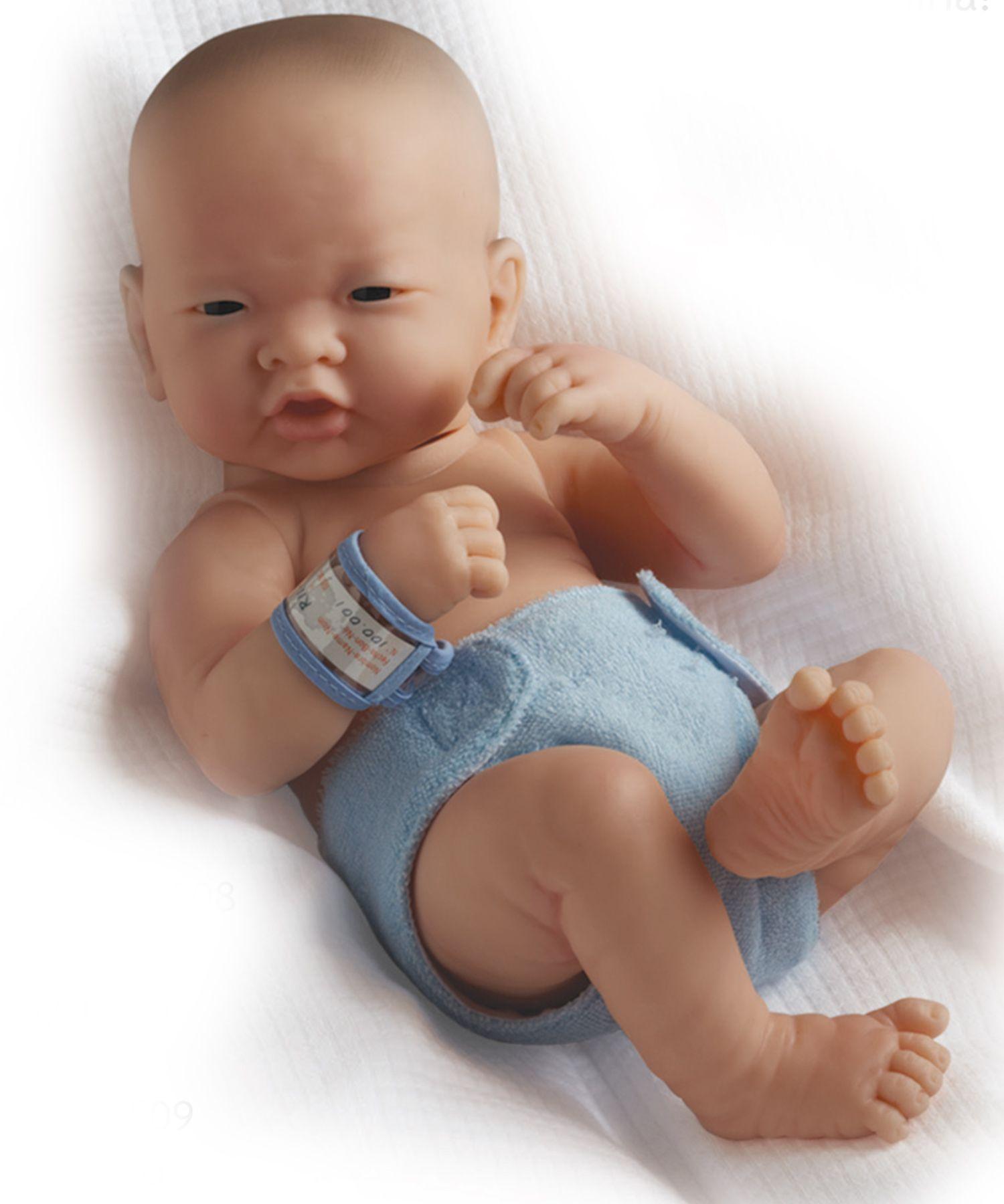 La Newborn Real Boy(Asian) 18508 by Berenguer Doll