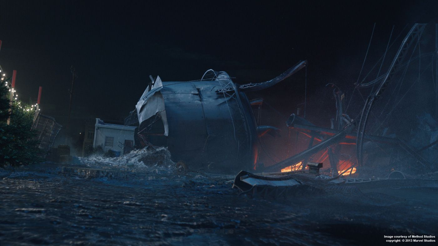 IRON MAN 3: Matt Dessero – VFX Supervisor – Method Studios