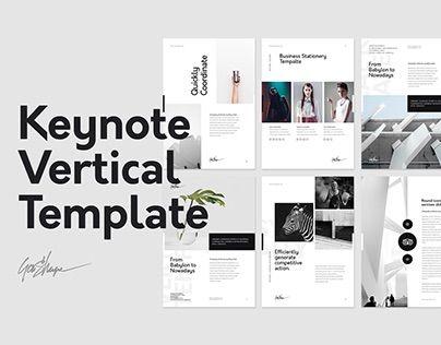 Keynote vertical presentation template pinterest keynote vertical presentation template toneelgroepblik Images