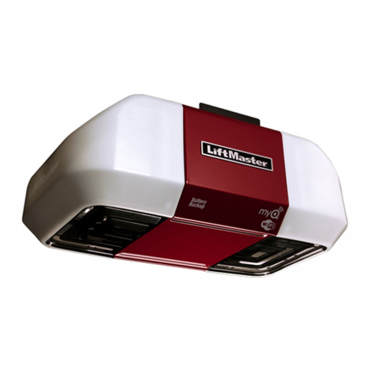 Liftmaster 8557w 3 4 Hp Ac Belt Drive Wi Fi Garage Door Opener Garage Doors Garage Door Opener Best Garage Doors