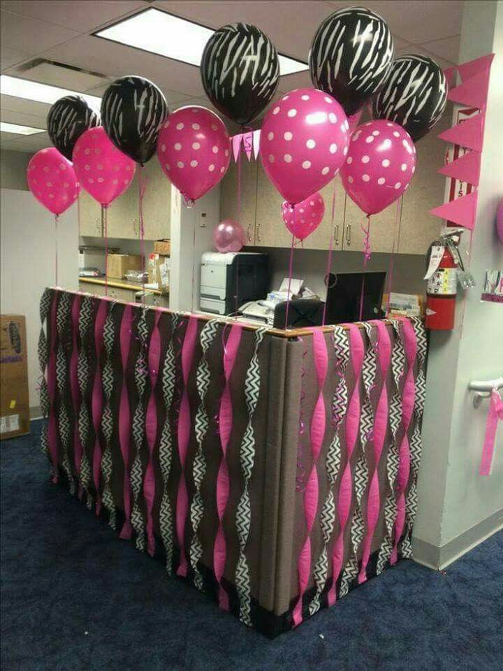 Office Birthday Decorations, Cubicle Decorations, Party Decoration Ideas,  Cubicle Ideas, Boss Birthday, Birthday Wishes, Birthday Party Ideas, ...