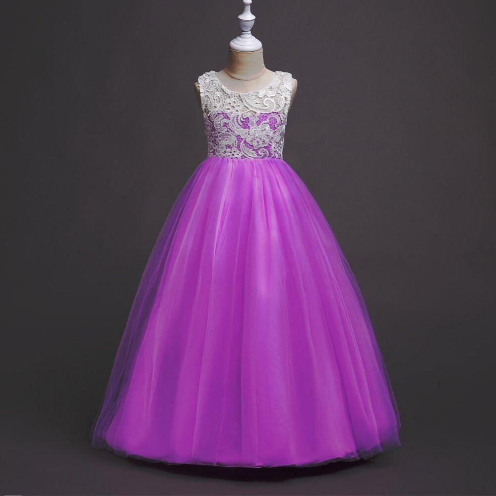 Dress for Girls Christmas Eve Prom Dresses 5-16Y Flower Girls ...