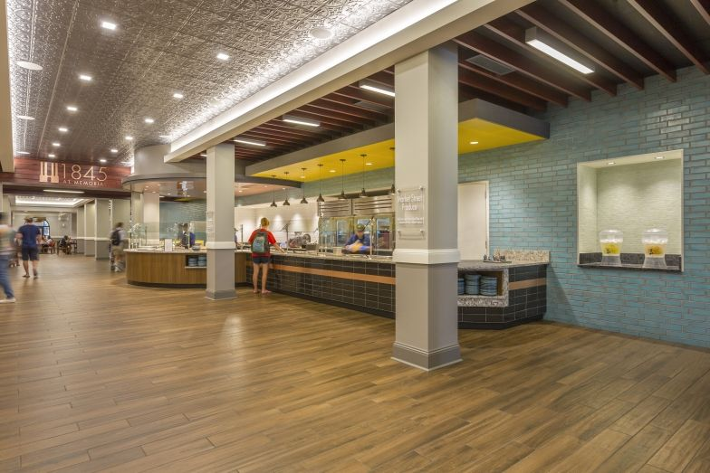 Memorial Hall Baylor University Tipton Associates Architecture Planning Interior Design