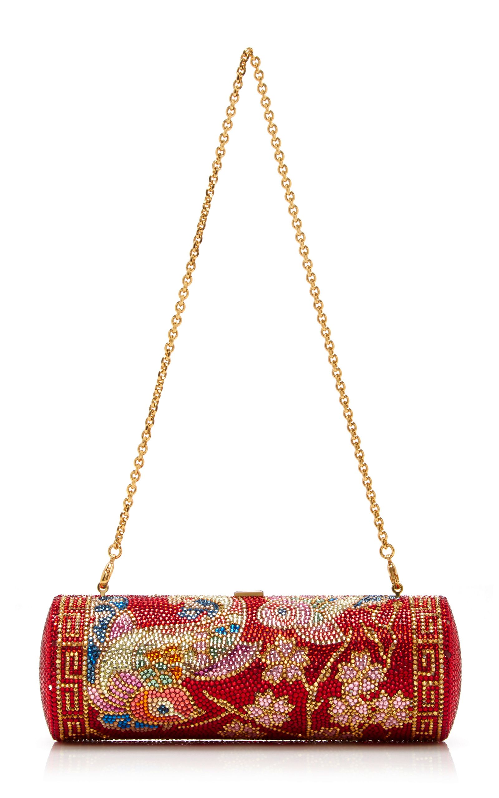 Pao Roll Clutch by JUDITH LEIBER COUTURE Now Available on Moda Operandi fdc33788c6121