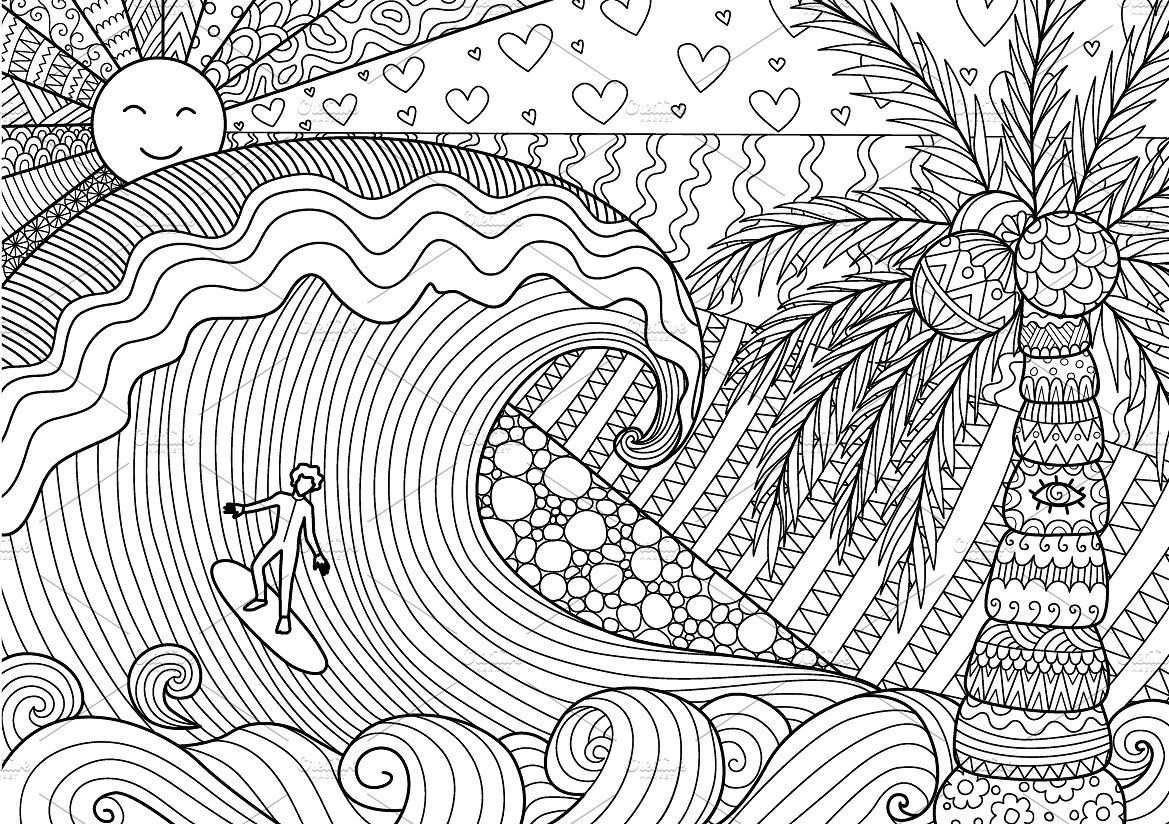 32 Summer Coloring Pages Summer Coloring Pages Coloring Books Coloring Pages
