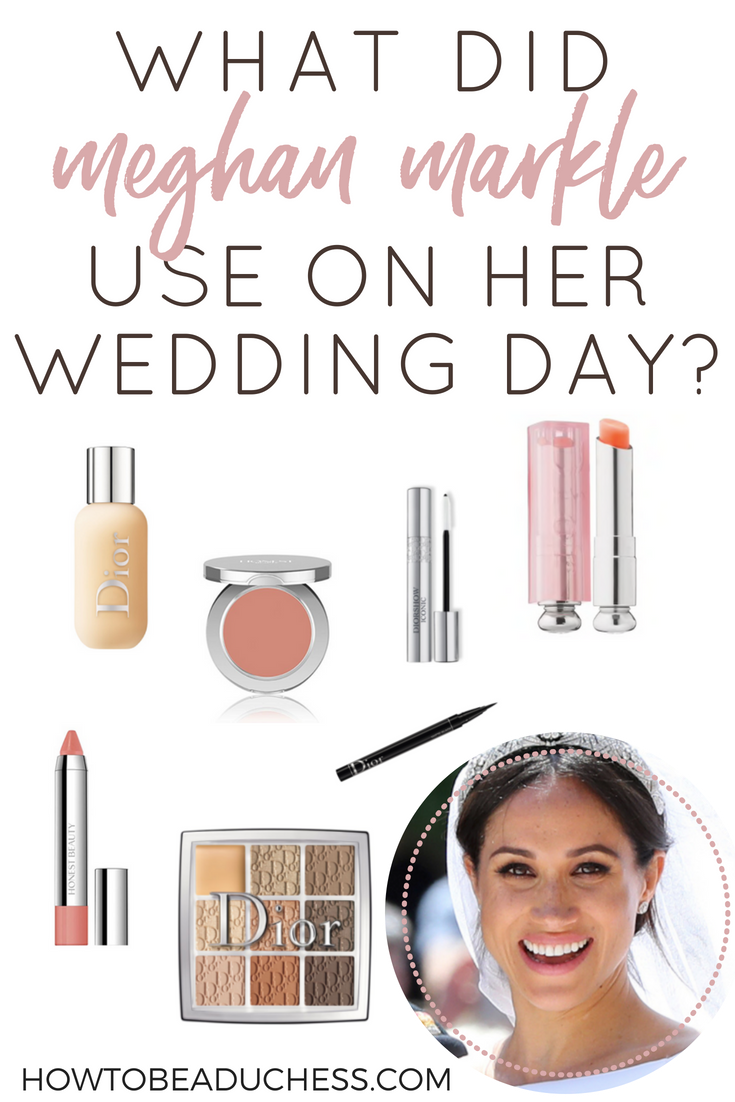 Meghan Markle S Wedding Day Beauty Products How To Be A Duchess Gorgeous Wedding Makeup Wedding Day Makeup Wedding Makeup Tips