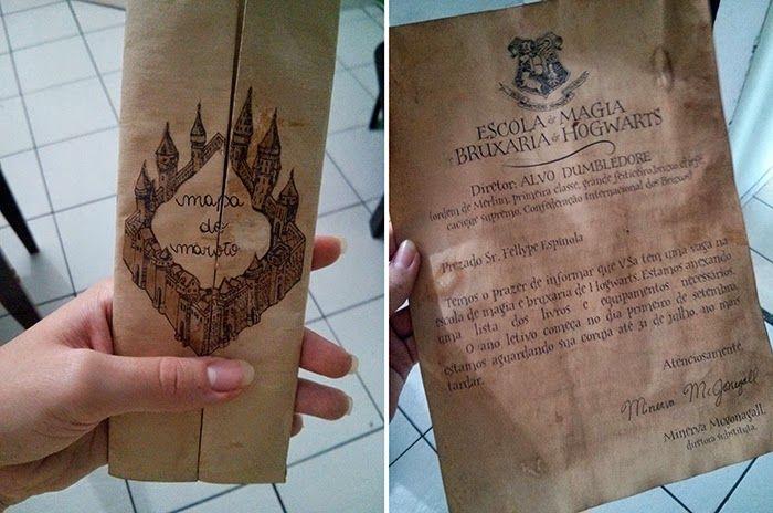 Presente Inspirado Em Harry Potter Harry Potter Presentes Harry