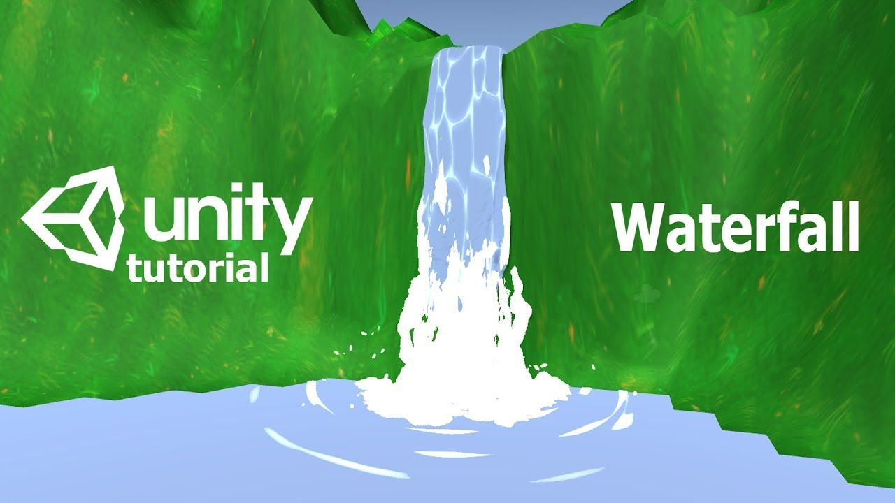 Game VFX tutorial - Waterfall | Unity3d | Game Development | Unity