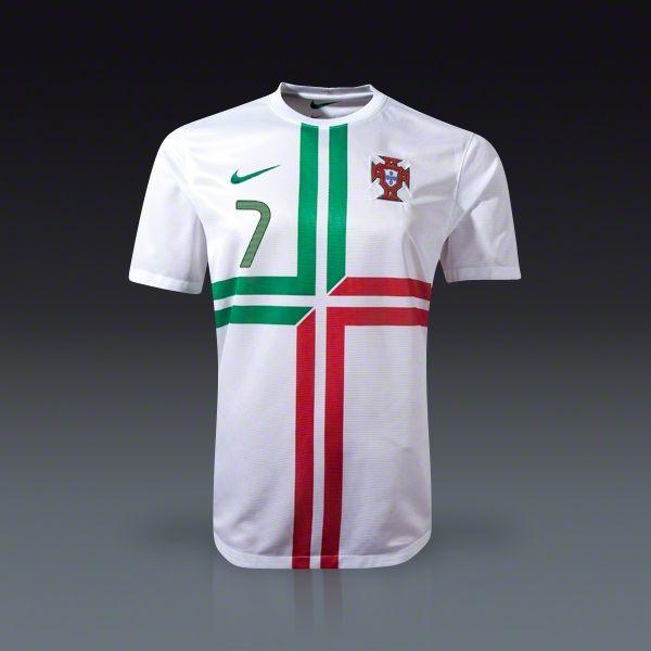 9c8b5ae77 Nike Cristiano Ronaldo Portugal Away Jersey 12 13
