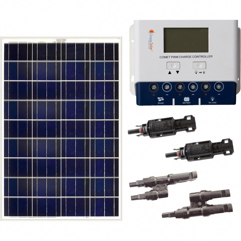 Grape Solar 200 Watt Off Grid Solar Panel Kit Solarpanels Solarenergy Solarpower Solargenerator Solarp In 2020 Solar Energy Panels Solar Power Panels Solar Panel Kits
