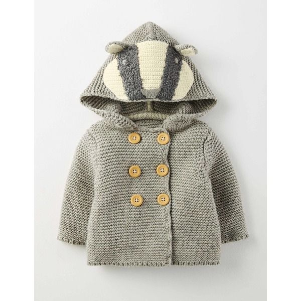 Boden strickjacke f r jungen grau baby boden fashion for Bodendirect sale
