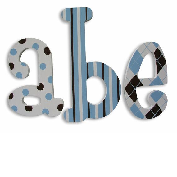 Wall Decor Baby Photo Prop Wooden Letters Signs For Nursery Hanging Room