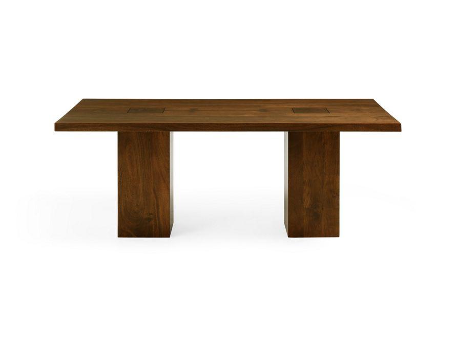 Tao Walnut Dining Table Arhaus Furniture Walnut Dining Table