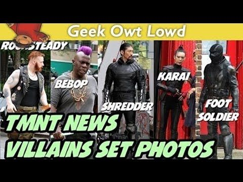 Tmnt 2 2016 Villains Set Photos News Speculati Tmnt Villain Photo
