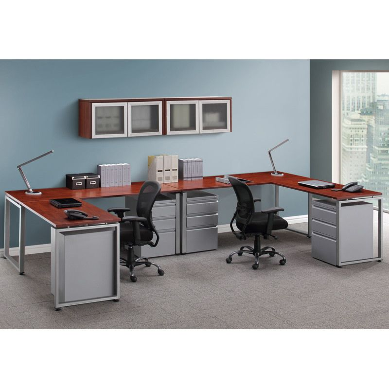Elements Shared Desk With Drawers Furniture Quality Office
